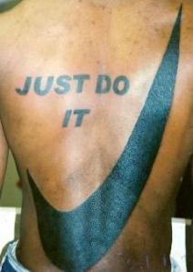 just do it nike tattoo lovemarks
